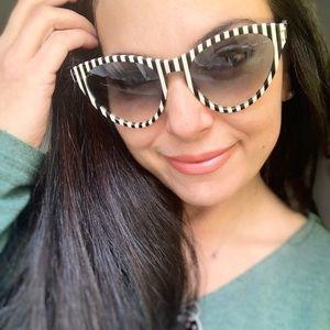 Authentic GUCCI 54 cat eyes Acetate sunglasses